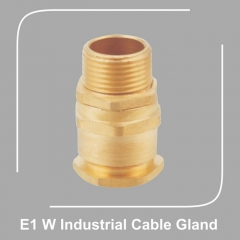 E1 W Industrial Cable Gland