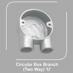 Circular Box Branch Two Way U