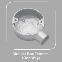 Circular Box Terminal One Way