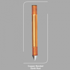Copper Banded Earth Rod