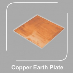 Copper Earth Plate