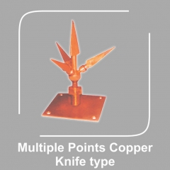 Multiple Points Copper Knife Type