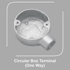 Circular Box Terminal One Way