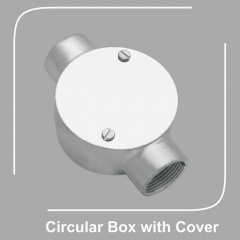Circular Box with Cover