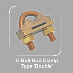 U Bolt Rod Clamp Type Double